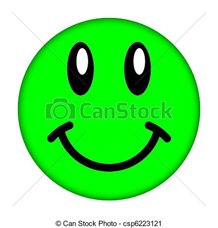 Smileys clipart logo A smiley Stock Green white