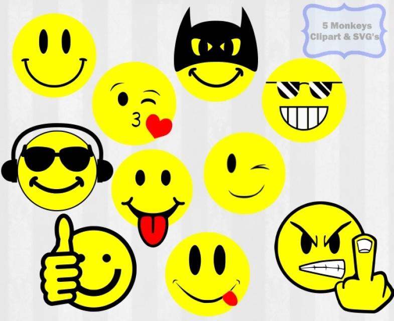 Smileys clipart logo SVG png art clipart SVG