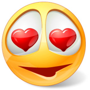 Smileys clipart love heart At Land Icons Image Land