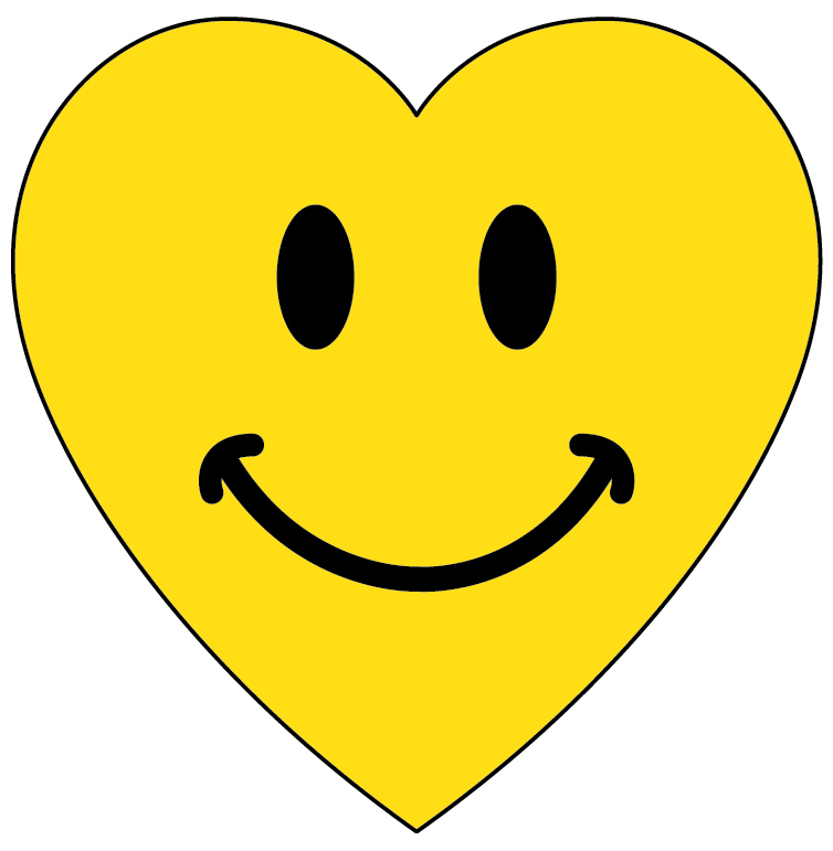 Hearts clipart smiley face Face a only HEART I