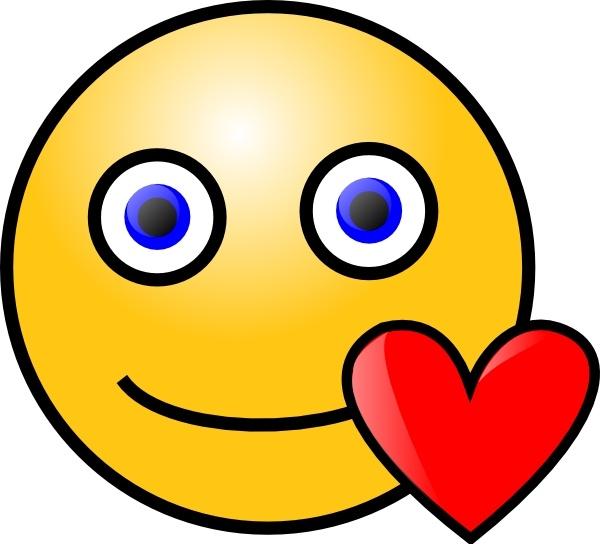 Smileys clipart love heart Open Heart Love Love Smiley