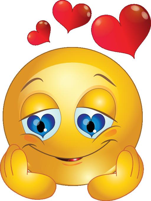 Smileys clipart love heart Kid Smiley Loving Clipart Loving
