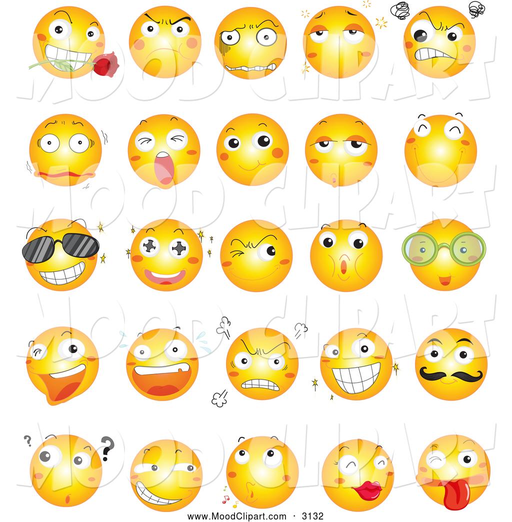 Smileys clipart mood Faces Faces Clipart Mood Clipart