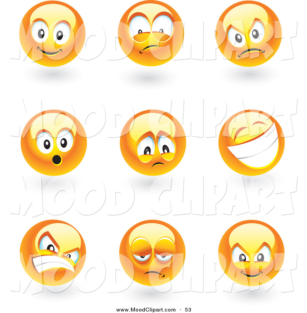 Smiley clipart mood Mood Art Clipart Images Clip