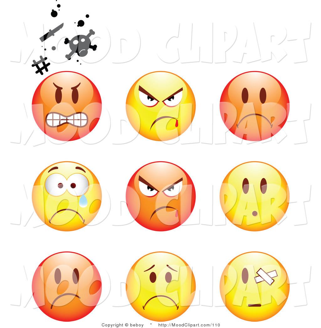 Mood clipart upset #5
