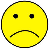 Smileys clipart mood Smiley 2 Sad Clip Mood
