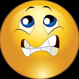 Smiley clipart nervous Did Romance enough then that