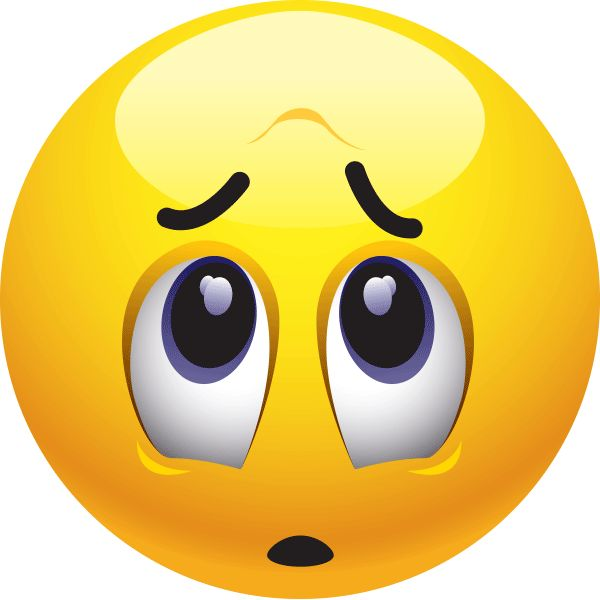 Smiley clipart nervous Emoticon on Worried 166 images