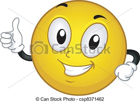 Smileys clipart okay A  Illustrations  Up