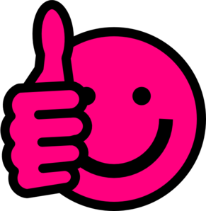 Smileys clipart pink Smiley Thumbs Images Panda Clip