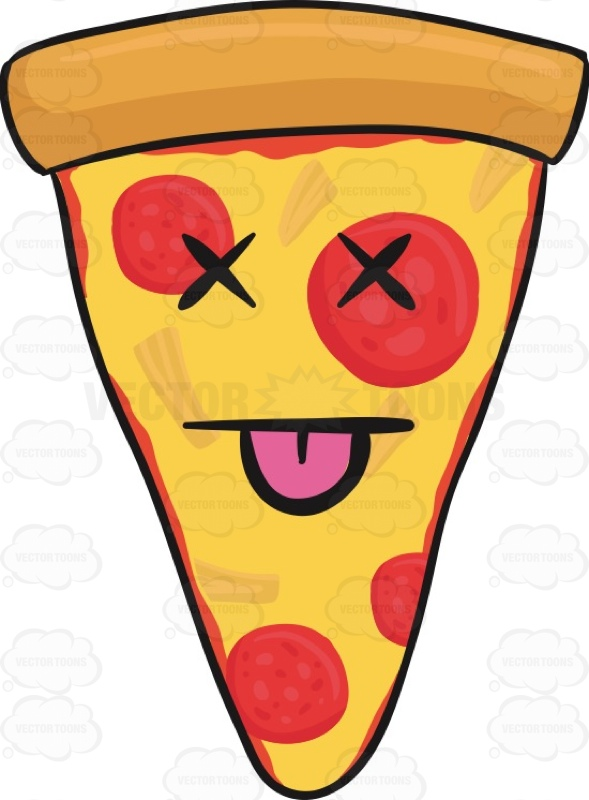 Smileys clipart pizza #boxing Pizza Slice #boxed Of
