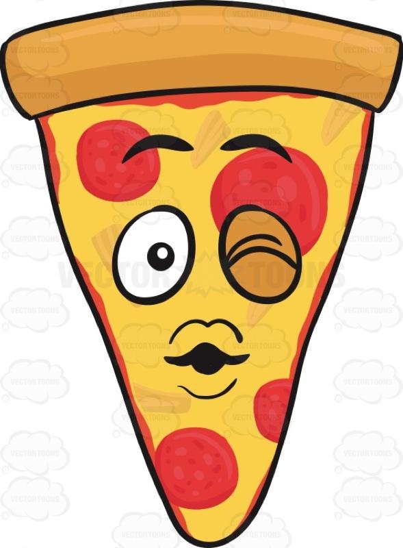Smiley clipart pizza Kiss Kiss Of Emoji A