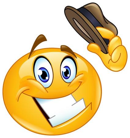 Smileys clipart positive Smiley Howdy Face