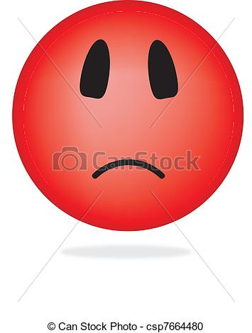 Smileys clipart positive Angry Clipart csp7664480 smiley of