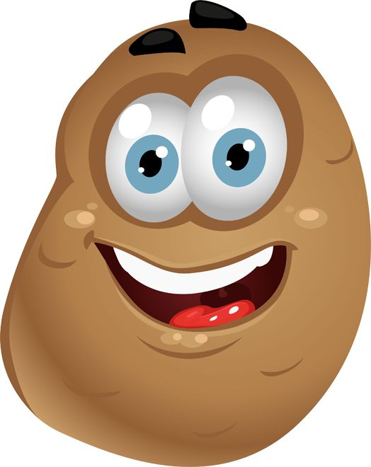 Smiley clipart potato Smiles best FacesPotatoSmileysEmoji images All