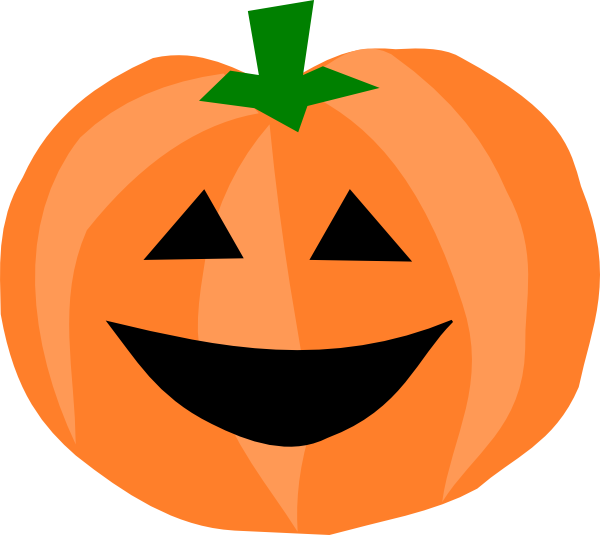Smiley clipart pumpkin Cute free pumpkin com Clipart