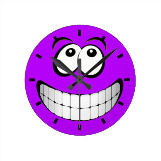 Smiley clipart purple Gifts Eyes Crazy Face Round