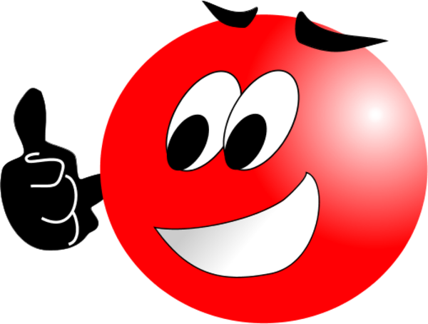 Smiley clipart red Thumbs clipart Smiley smiley up