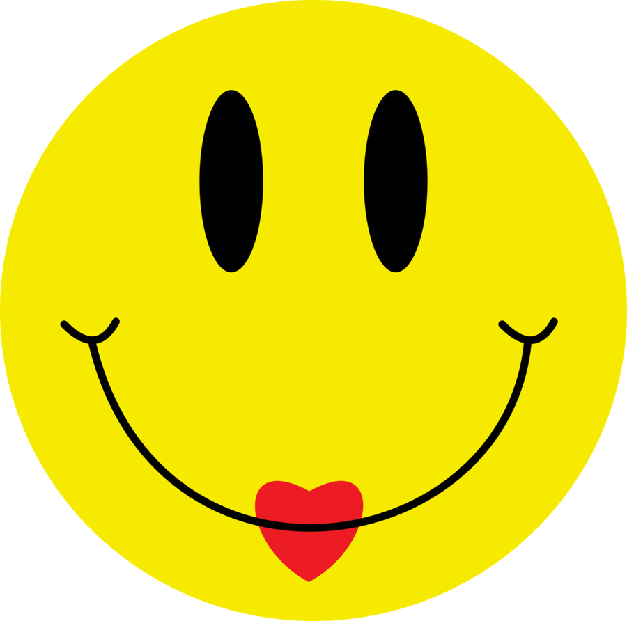 Smiley clipart red Smile red Smile heart smile