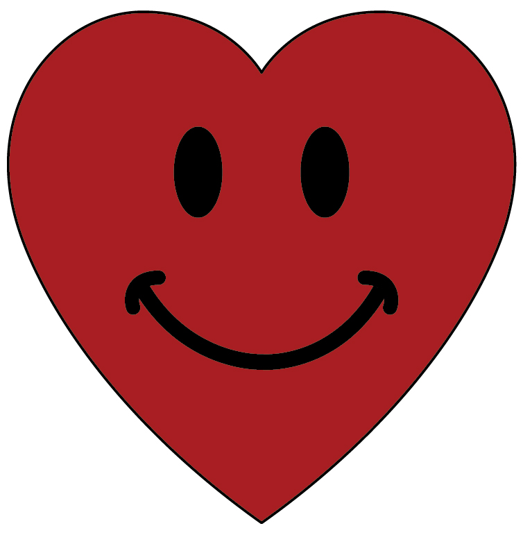 Hearts clipart smiley face Clip Face  Free Download