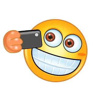 Smiley clipart selfie Pinterest Selfie emojil Selfie