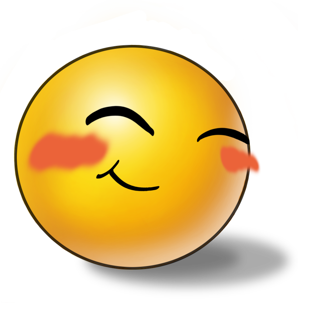 Smileys clipart emoji Shy Face Clipart Face Clipart
