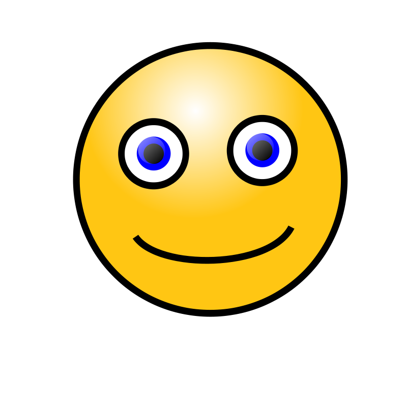 Smileys clipart simple Art Clip Art Simple Face