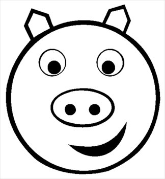 Smileys clipart simple Smiley and Photos pig Clipart
