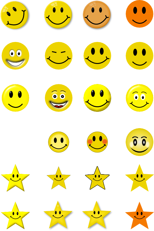 Smileys clipart simple Simple smiley Clip clip Face