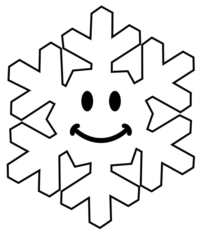 Smileys clipart dislike Place Xmas Smiley snowflake face