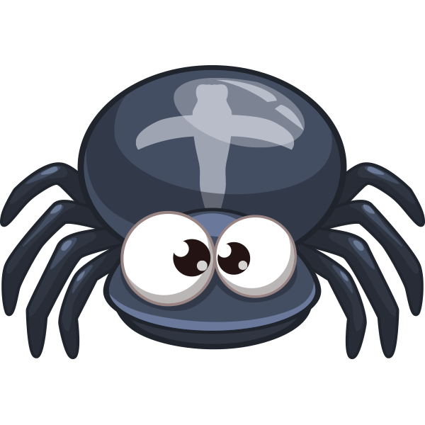 Smiley clipart spider Spider Sticker Facebook and Spider