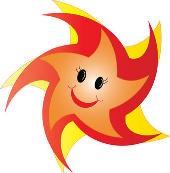 Smiley clipart star Art by CLIP CLIPART STAR
