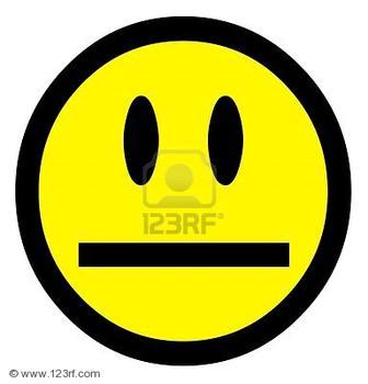 Smileys clipart straight face · cartoon Straight Face teacher