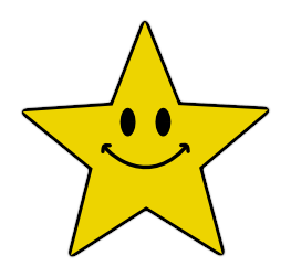 Smileys clipart excited face Smiley clipart Clipart Clipart star