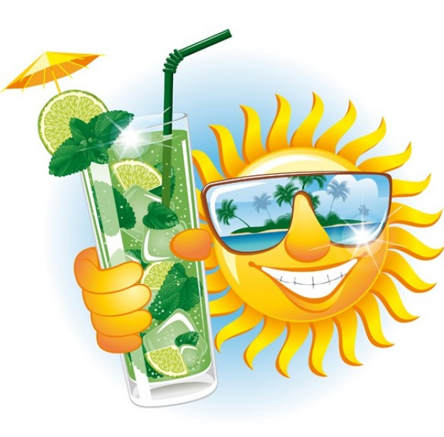 Smiley clipart summer Clipart Imágenes recurso  Shining