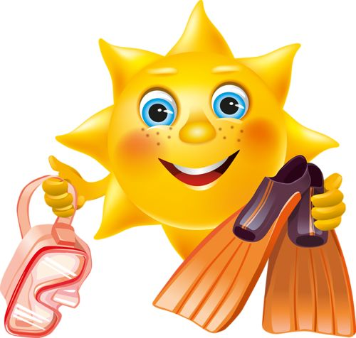 Smiley clipart summer And smiley on faces images