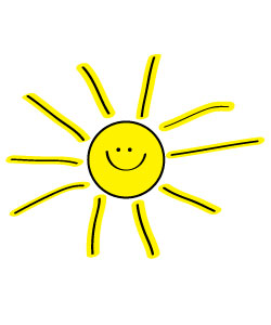 Smiley clipart summer Sun projects websites  clipart