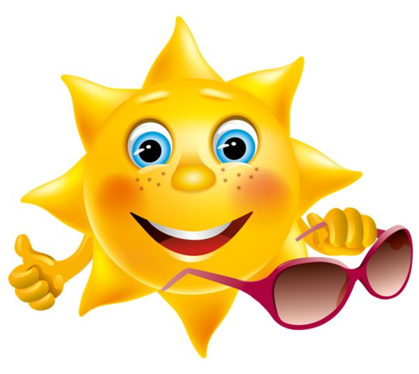 Smiley clipart summer ClipartSummer Pinterest soleil ideas tube