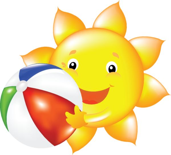 Smiley clipart summer Smiley LUNE on 25+ SOLEIL