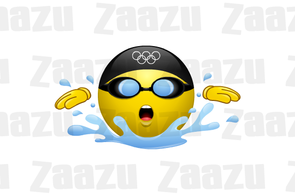 Smiley clipart swimming Swimming swimming the Olympics day
