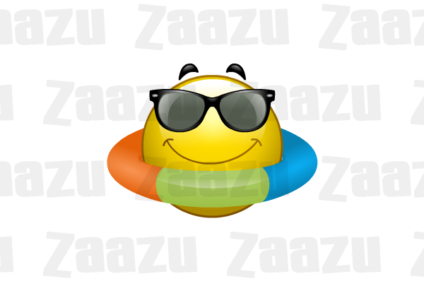 Smiley clipart swimming Com beach Summer smiley Smiley