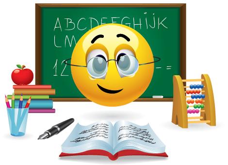 Smiley clipart teacher Smileys Emoticon Teacher Emoticon Teacher
