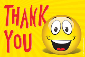Smileys clipart thanks Face thank you clipart Art