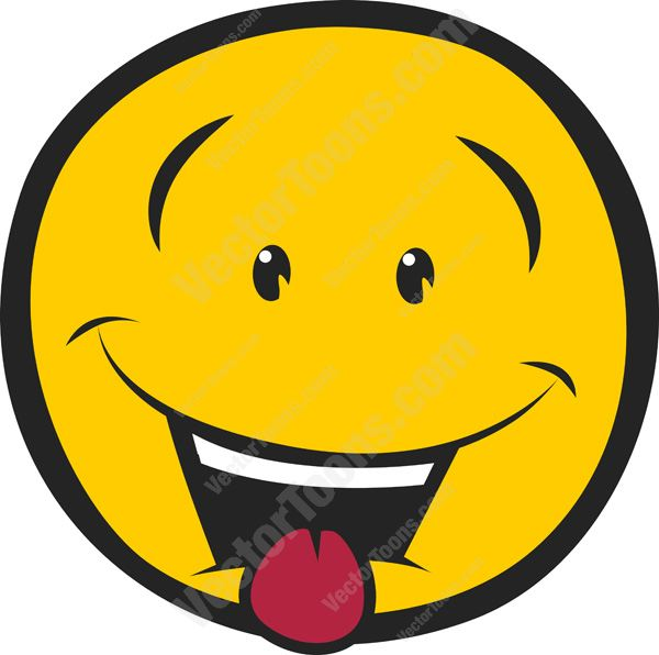 Smileys clipart thirsty Out Wide Emoticon Bulging