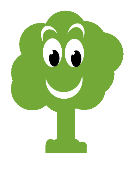 Face clipart tree #5