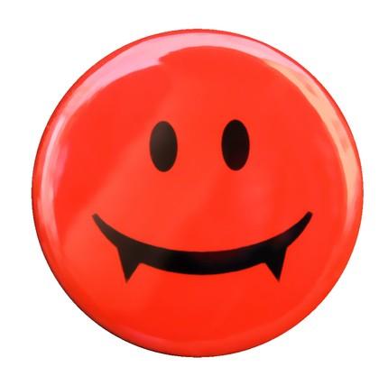 Smileys clipart vampire Button Art Face Free Free