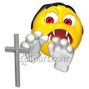 Smileys clipart vampire Front Front Picture of Smiley
