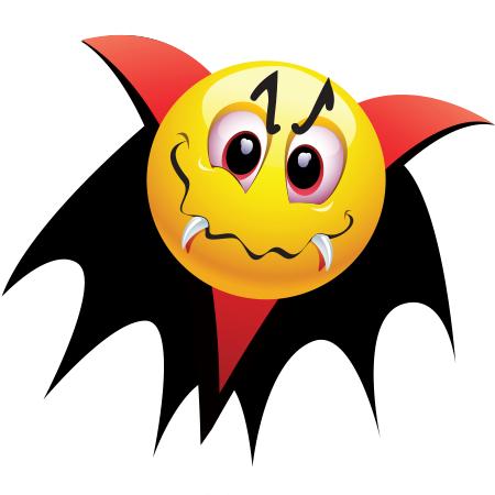 Smileys clipart vampire Emoticon Emoticon Vampire Vampire and