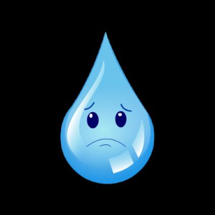 Waterdrop clipart sad Sad Drawing Shutterstock Smiley Water