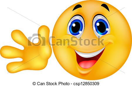 Smileys clipart hands Goodbye Waving Waving Download Clipart
